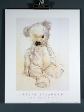 Ralph Steadman. Teddy! Where Are You? Poster Print 1995, Very Rare
