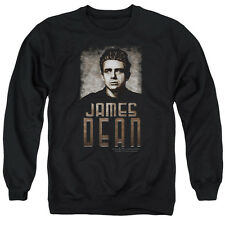 James Dean Icon Movie Actor Sepia Dean Adult Crewneck Sweatshirt