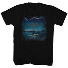 Journey Raised On Radio Album Guitar Cover Rock Band Adult T-Shirt Tee