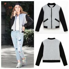 New Womens Long Sleeve Cotton Cardigan Hoodies Coat Jacket Outwear Sport Tops