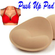 1Pair Women Foam Top Push Up Bra Pads Insert Breast Enhancer Bikini pad SwimWear