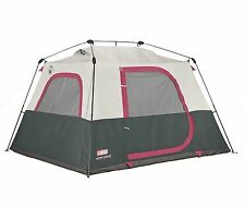 Coleman 6-Person Family Waterproof Camping Instant Cabin Tent 10 x 9 x 6 Feet