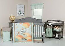 Trend Lab Dr Seuss Oh the Places You'll Go! Unisex Baby Nursery Crib Bedding Set