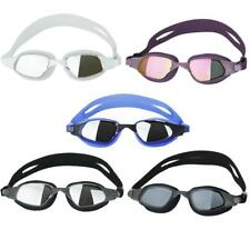 Adult Anti-fog Swimming Goggles Swim Glasses Anti-UV Eye Protection Adjustable