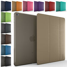 Ultra Slim Magnetic PU Leather Smart Cover Hard Back Stand Case For iPad Mini 4