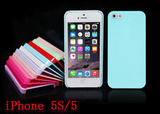 HOT Pastel TPU Candy  Color Hard Case Cover Skin For Apple Iphone 5 5s