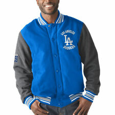 G-III Sports by Carl Banks Los Angeles Dodgers Varsity Jacket - MLB