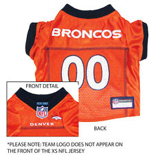 Denver Broncos NFL Dog Pet  Football Jersey (all sizes)