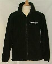 Security Clothing Polar Fleece Embroidered Front & Back & Both Sleeves S-3XL