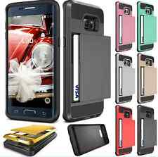 Shockproof Armor Hybrid Rugged Rubber Hard Case Cover for Apple iPhone/ Samsung