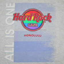 "NEW 2016 GAY PRIDE HARD ROCK CAFE HONOLULU HAWAII ""ALL IS ONE"" T-Shirt TEE LARGE"