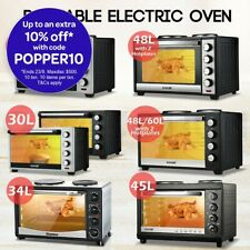 Electric Convection Oven Benchtop Low Fat Fryer Roaster Turbo Grill Cooker