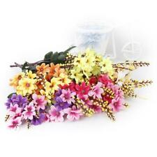 1 Bunch Artificial Fake Daisy Flower Plant Bouquet Home Wedding Party Decoration