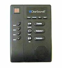 ClearSounds CLS-ANS3000 digital amplified answering machine  with slow speech