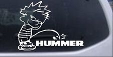 Pee on Hummer Car or Truck Window Laptop Decal Sticker Off Road 4X4 7.7X6