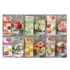 DIY Paper Flower Embellishments Crafts for Card Making Scrapbooking Wedding Home