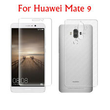 1x/2x Lot HD LCD Clear Front & Back Film Screen Protector Skin For Huawei Mate 9