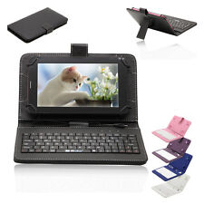 """iRULU eXpro 7"""" Android 4.4 Quad Core 8GB Tablet PC Dual Cams w/ Keyboard Folios"""