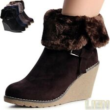 Women's Wedge Heel Ankle Boots Boots Boots Wedges