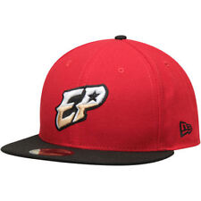 El Paso Chihauhuas New Era Authentic Road 59FIFTY Fitted Hat - Red/Black - MiLB