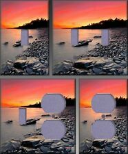 North Shore Sunset Wall Decor Light Switch Plate Cover