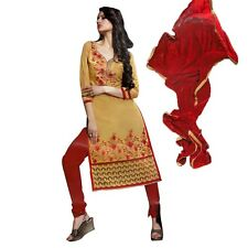 Readymade Designer Partywear Cotton Salwar Kameez Suit Indian Dres-Elegant-06-09