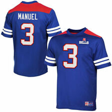 EJ Manuel Buffalo Bills Majestic Hashmark II T-Shirt - Royal Blue - NFL