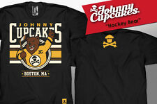 BOSTON EXCLUSIVE Johnny Cupcakes T-Shirt (GIRL'S): Hockey Bear