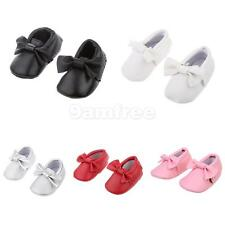 Baby Infant Soft Sole PU Leather Shoes Bowknot Girl Infant Toddler Crib Sneaker