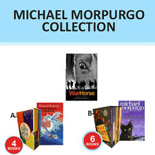 Michael Morpurgo Collection Set Born To Run,A Medal for Leroy,Gift Wrapped New
