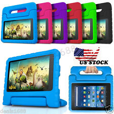 "Kids Shock Proof Handle Case Cover Stand For Amazon Kindle Fire HD 7"" In Stock"