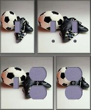 Soccer Still Life Wall Decor Light Switch Plate Cover