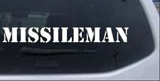 missileman Car or Truck Window Laptop Decal Sticker 14X1.8