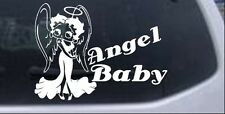 Betty Boop Angel Baby Decal Car or Truck Window Laptop Decal Sticker 6X8.2