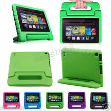 For Amazon Kindle Fire HD 7 Inch Kids Child Shock Proof EVA Case Cover w/ Handle