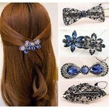 Fashion Women Lady Floral Butterfly Hair Accessory Hair Barrette Clip Hairpin