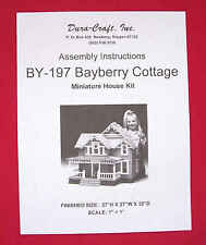 Dura-Craft  *BAYBERRY COTTAGE* BY-197  Dollhouse Instructions