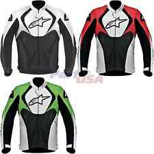 Alpinestars Jaws Perforated Jacket Long Sleeve/Perforated Leather Vented