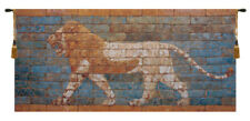 Lion  Nebuchadnezzar II Belgian Woven Decor Wall Hanging Tapestry