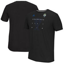 Seattle Sounders FC adidas 2016 MLS Cup Bound Performance T-Shirt - Black - MLS