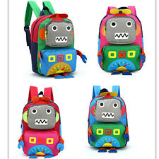 Baby Toddler Kids Child Cartoon Robot Backpack Schoolbag Shoulder Bag Rucksack C