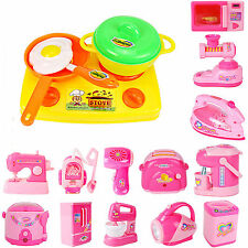 Kids Pretend Role Play Kitchen Fruit Vegetable Food Toy Cutting Set Appliance