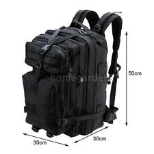 DURABLE OUTDOOR TACTICAL BACKPACK PORTABLE CAMPING ASSAULT PACK SHOULDER Y9P6