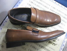 NIB NEW Asher Green GREG 054621 LEATHER LOAFER SLIP ON SHOES