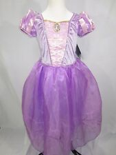 Disney Store Tangled Princess Rapunzel Flower Gown Child Girl's Costume