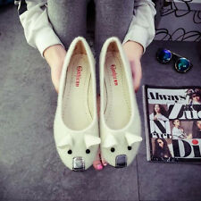 New Fashion Women Casual Ballet Shoes Slip On Flats Loafers Mice Cartoon Shoes C