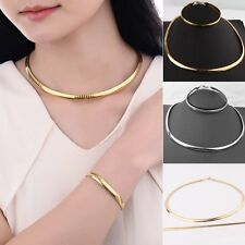 1 Set Women Necklace Pendant Jewelry Set Bracelet Choker Weeding Mother Gift New