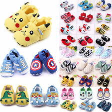 Kid Toddler Infant Boy Girls Slipper Loafers Baby Prewalkers Crib Shoes Sneakers