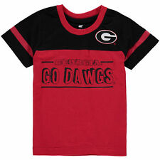 Georgia Bulldogs Colosseum Infant Referee T-Shirt - Red