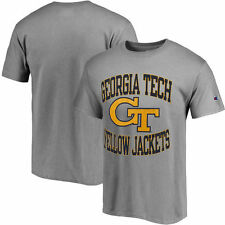 Georgia Tech Yellow Jackets Champion Tradition T-Shirt - Gray - NCAA